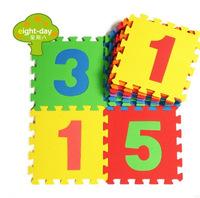 Cheap 10 pcs child eco-friendly Floor Mat Area Rug Soft foam mats baby crawling play mat