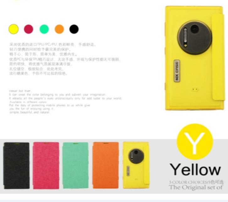 Новый высокое качество прозрачный тонкий мода красочные кожаный чехол-книжка чехол для Nokia Lumia 1020 чехол N1020 чехол бесплатная доставка