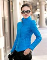 Wadded jacket outerwear female winter women's 2014 design short cotton-padded jacket slim small cotton-padded jacket