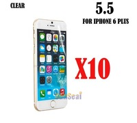"""10pcs Clear Screen Protector Cover, Front Screen Protector Film for Iphone 6 Plus 5.5"""" Without Retail Package"""