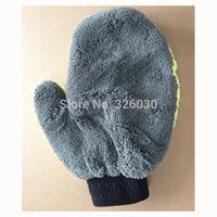 3pcs/lot car washing cleaning glove microfiber mitten free shipping