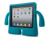 2014 Latest 3D TV Shape Cute Cartoon  Kids Safe Foam EVA Shock proof Handle iguy stand Case Cover  Silicone soft  for Ipad Mini