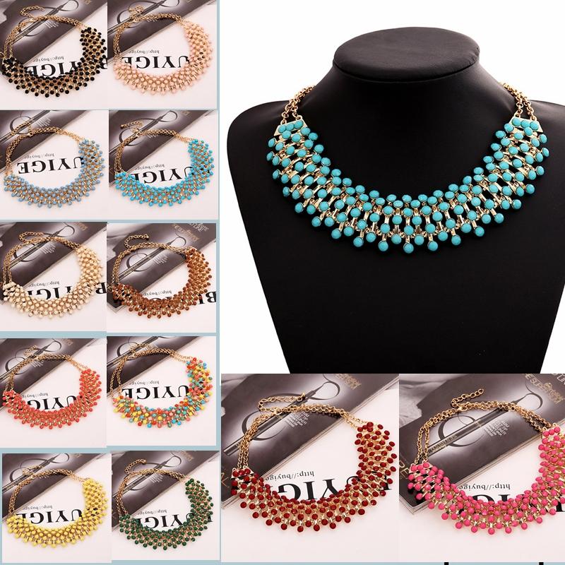 2014 new good women Z design fashion chain necklace bib collar choker Necklaces Pendants luxury statement
