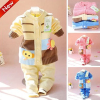 Spring sweater cotton baby suits, baby infant sweaters, free shipping