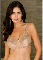 12pcs Wholesale High Quality Brand Women Large Size Bra Lace Flower Push Up Thin women brassiere Free Ship  UB025