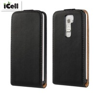 High Quality Genuine Flip Leather Case for LG Optimus G2 D802 , Real Leather Cover For LG G2 ,11 Colors 50PCS DHL free shipping