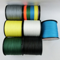 Wholsales multifilament  fishing300m line   4 Srands pe braided wire  fishing line dyneema  10LB-100LB  Free shipping