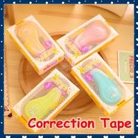[FORREST SHOP] High Quality Cute Korean School Stationery Kawaii Rabbit Correction Tape 6m (12 Pieces/lot) 255W