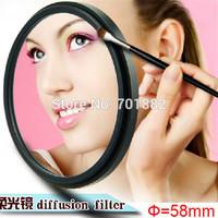 58 mm 58mm SF filter Soft Focus Effect Diffuser Filter for all DSLR SLR cameras