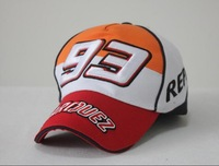 Moto gp the sun and moon embroidery letters baseball cap 93 men's and women's outdoor sports car cap sunshade cap
