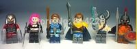 Decool 201-206 super hero marvel black widow new LOL Minifigures Model plastic Building Blocks Sets Figure Bricks Classic toys