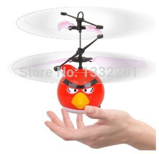Hovering and Floating Flying Fly Bird Toys Infrared Induction Bird RC Helicopter Magic Toy UFO Ball VS Ar.drone Drone For Kids(China (Mainland))