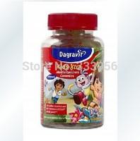 Free shipping Dutch origin Dagravit sweet DORA multivitamin jelly grain of 3 + 60