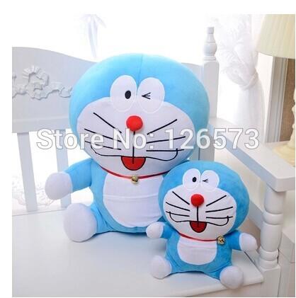 30cm stuffed doraemon stuffed toys kids toy baby toy birthday presents soft toys one piece free shipping(China (Mainland))