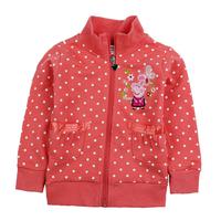 Nova Kids girl Fashion 2014 Spring peppa pig Cotton girl's jackets & coats Jacket jaquetas infantis Coats for Children Outerwear