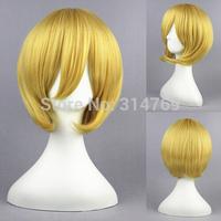 32cm Hitman Reborn Cosplay Axis Powers Hetalia Wigs Black Butler Short Hair Kida Masaomi Synthetic Wig Wholesale