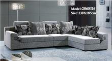 2068D# high quality factory price sofa Living room sofa sets fabric soft corner sofa sets(China (Mainland))
