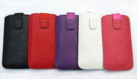 HKP ePacket Free Shipping Leather Pouch phone bags cases For nokia lumia 720 Cell Phone Accessories