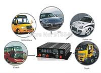4CH H.264 DVR SD Mobile DVR Car DVR for bus taxi