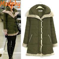 2014 women cotton padded jackets full sleeve lamp fur double collar autumn winter warm short coat drop ship ST109