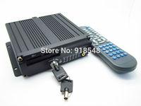vehicle dvr Car DVR H 264 support 4 Car DVR camera for bus taxi