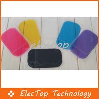 Free shipping Car Accessory Powerful Silica Gel Magic Sticky Pad Anti Slip for Phone PDA Mp3 Mp4 Car 2000pcs/lot Wholesale