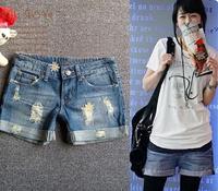 Promotion lady Denim Shorts,(S-XXXL)Fashion Ladies Jean Shorts,Denim Pants with Casual Short Hot Sale Free Shipping R935