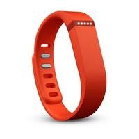 Free Shipping 2 PCS Large Size Replacement Wrist Band &Clasp for Fitbit Flex Bracelet (NoTracker) Orange Color