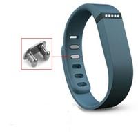 2 PCS Large Size Replacement Wrist Band &Clasp for Fitbit Flex Bracelet (NoTracker) Slate Color