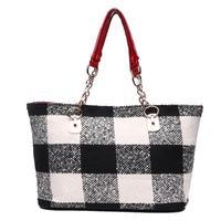 New 2014 Fashion Large Capacity Shopping Bag Handbag Desigual Casual Canvas Bag Women Chain Shoulder Bags Women Totes Z5
