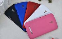 Alcatel Pop S9 Cover,New Rubber Hard Back Case For Alcatel One Touch Pop S9 7050Y Mix color Free shipping
