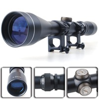 new 3-9x40 Air Rifle Gun Hunting Scope Telescopic Sight + 20MM Mounts&Cover for hunting airsoft