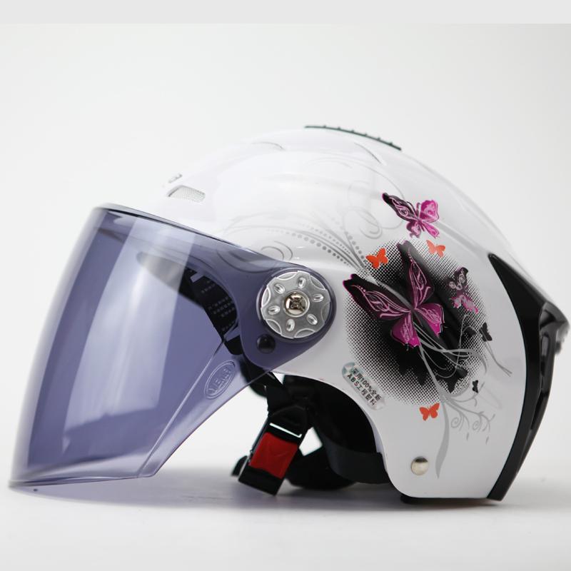 Genuine Mustang 310 half helmet motorcycle helmet electric car Mustang Ms. bicycle helmet helmet boutique for men and women(China (Mainland))