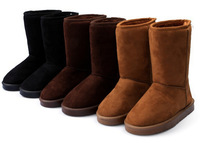 Free shipping 2014 HOT ! Fashion Winter Women Snow Boots For Lady, Thicken Short Plush Snow Boots Shoes For Women X1870