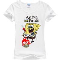 2014 new cartoon cotton cute T shirt women blouse vintage 3D  Animal Digital Printing shirts tops plus size