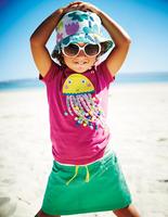 2014 new Girl Short Sleeve  T shirts  Summer Children's T-shirt 100% Cotton  12 pcs /lot -ZQZ285C