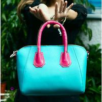 2014 Hot  women messenger bag new women handbag fashion PU leather bag portable shoulder bag cross-body women leather bag MB019