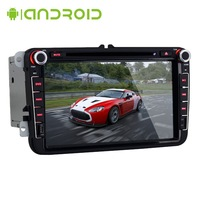 8 Inch 2 Din Car DVD Player for Volkswagen Android 4.2.2 VW RADIO  WIFI/3G Support TMPS Torque OBD2 CANBUS GPS