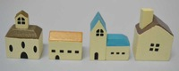 artificial creative Aegean Sea wooden mini house crafts&gift decoration for micro landscape plants and potted Succulent