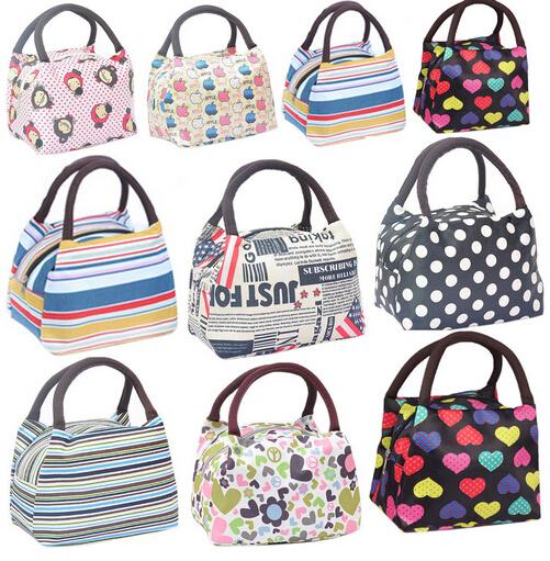 2014 spring thermal bag lunchbox cooler bag women handbag waterproof picnic bag neoprene lunch bag for kids(China (Mainland))