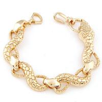 Min. Order $8.8(Mix Order) 2014 European and American Fashion Lady Bracelet  Metal Snake Women Bracelet FB0005