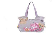 China wind canvas printing Shoulder Bag Handbag