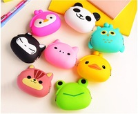 Min Order $15(mixed order) ovely mini  Zero wallet cartoon  silicone women The coin bag CLUTCH BAGS  7232sjm