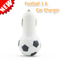 New Arrival Football USB Car Charger Adapter(5V/2100mA); For iPhone6/5/5S/4S, For Samsung, For iPad, For Tablet;