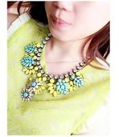 Supernova Sale Newest Women Semi-precious Stones Fashion Crystal rhinestone pendant&necklace for women