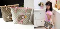 Hot sell girls bird  bag,girls plaid hand bags,5pcs per lot,BB04