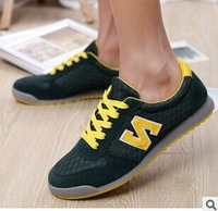 2014 Hot Sale man  Brand Breathable Sport Shoes Men Athletci Walking Shoes Sneakers Top Quality  man running shoes 5 color