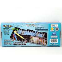 DIY Bracelet 2014 toty Rubber loom bands wholesale 1 loom red dot 1 metal hook 600 pcs rubbe 24 C clip Popular in USA