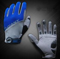 mountain bike winter long full finger gloves warm skid gloves