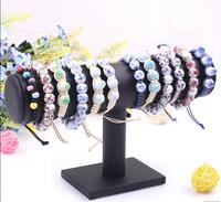 Free Shipping Supply single bracelets bracelets headdress flower jewelry watches rack single frame  wholesale jewelry display